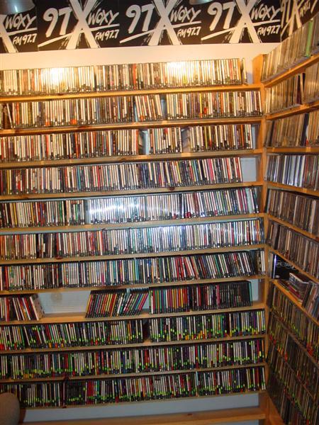 WOXY CD Wall