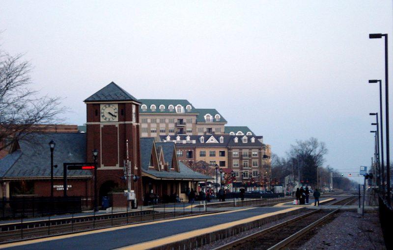 Palatine Metra Station - Wikimedia