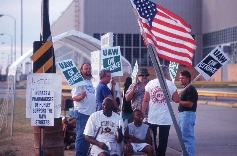 Flint Auto Workers Idled By UAW Strike