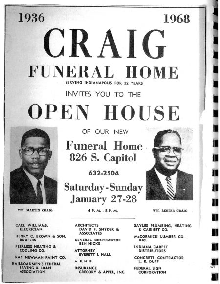 Craig Funeral Home - Indianapolis