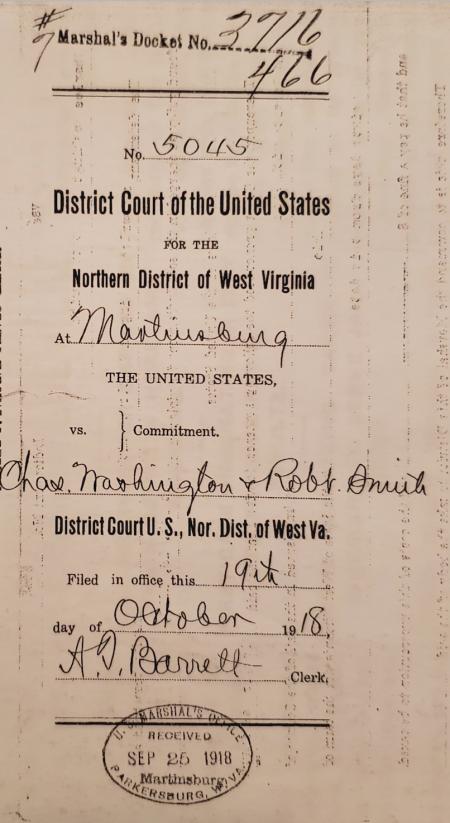 Court document - Robert Smith