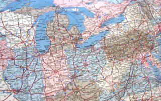 Rust Belt map