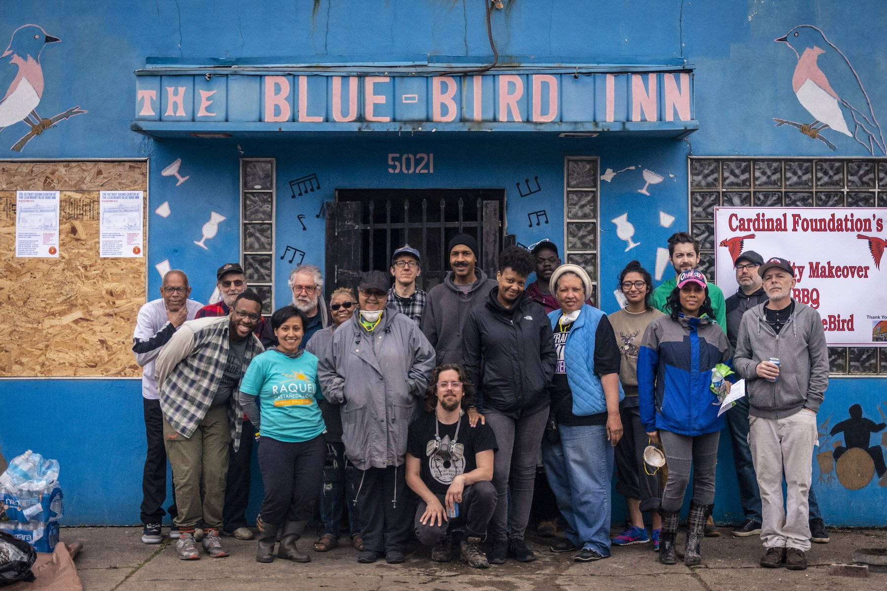 Reviving Detroit's Historic Blue Bird Inn