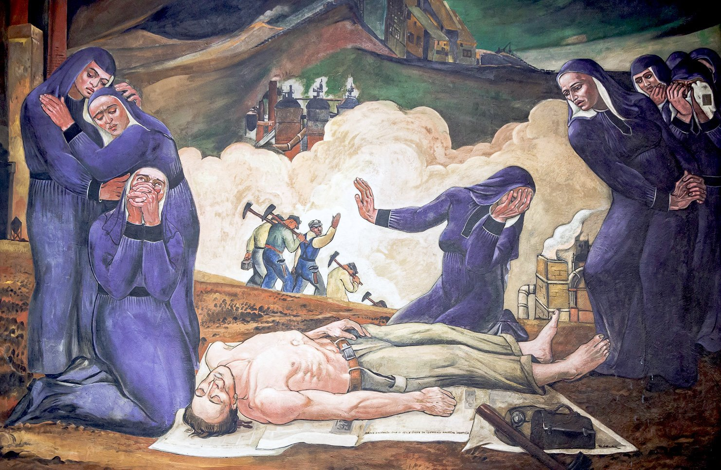 The Restoration of Maxo Vanka's Working-Class, Immigrant Murals