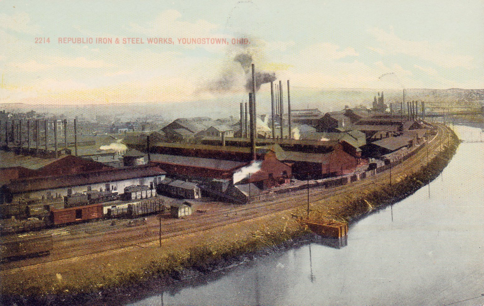 Republic Steel - Postcard
