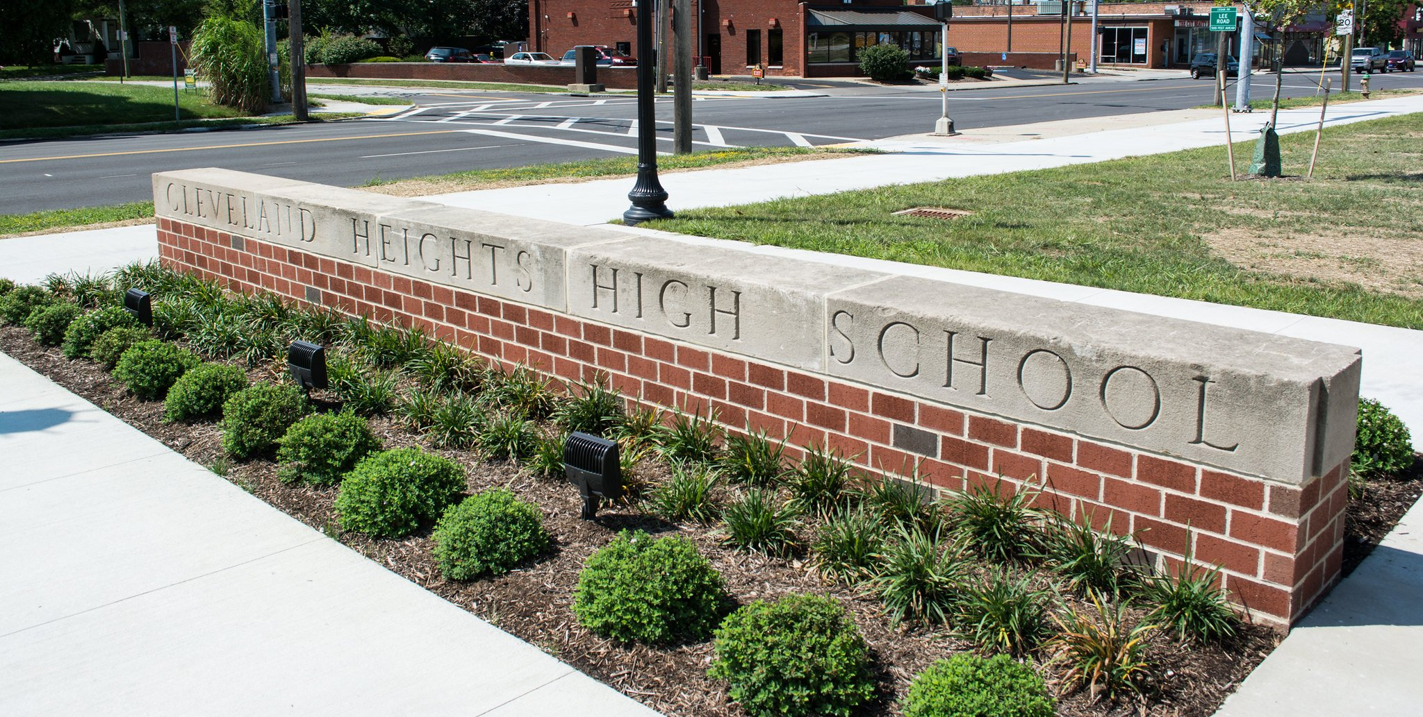 Cleveland Heights High School - Sign