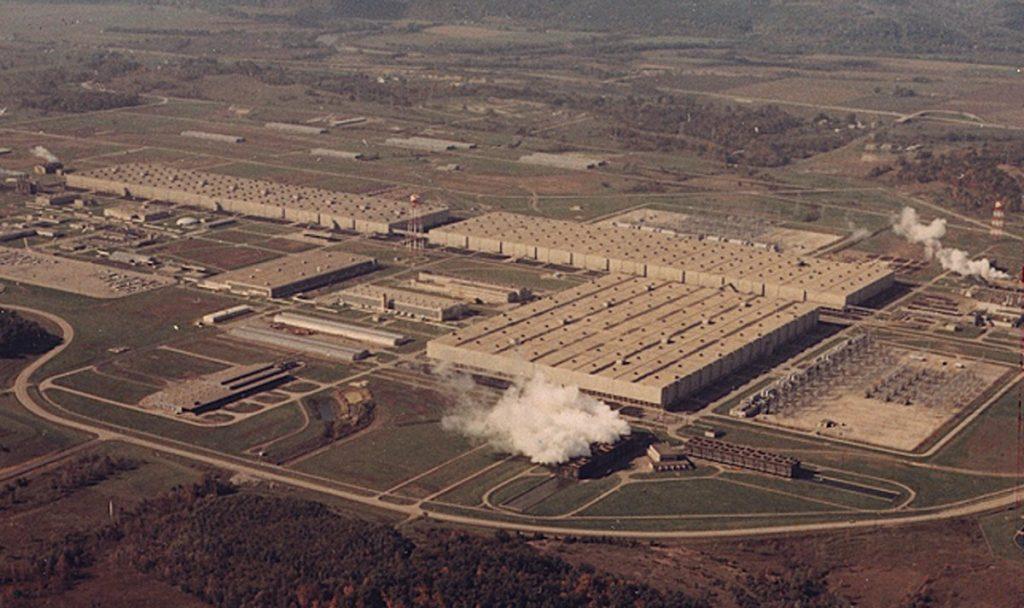 Portsmouth plant 1970s