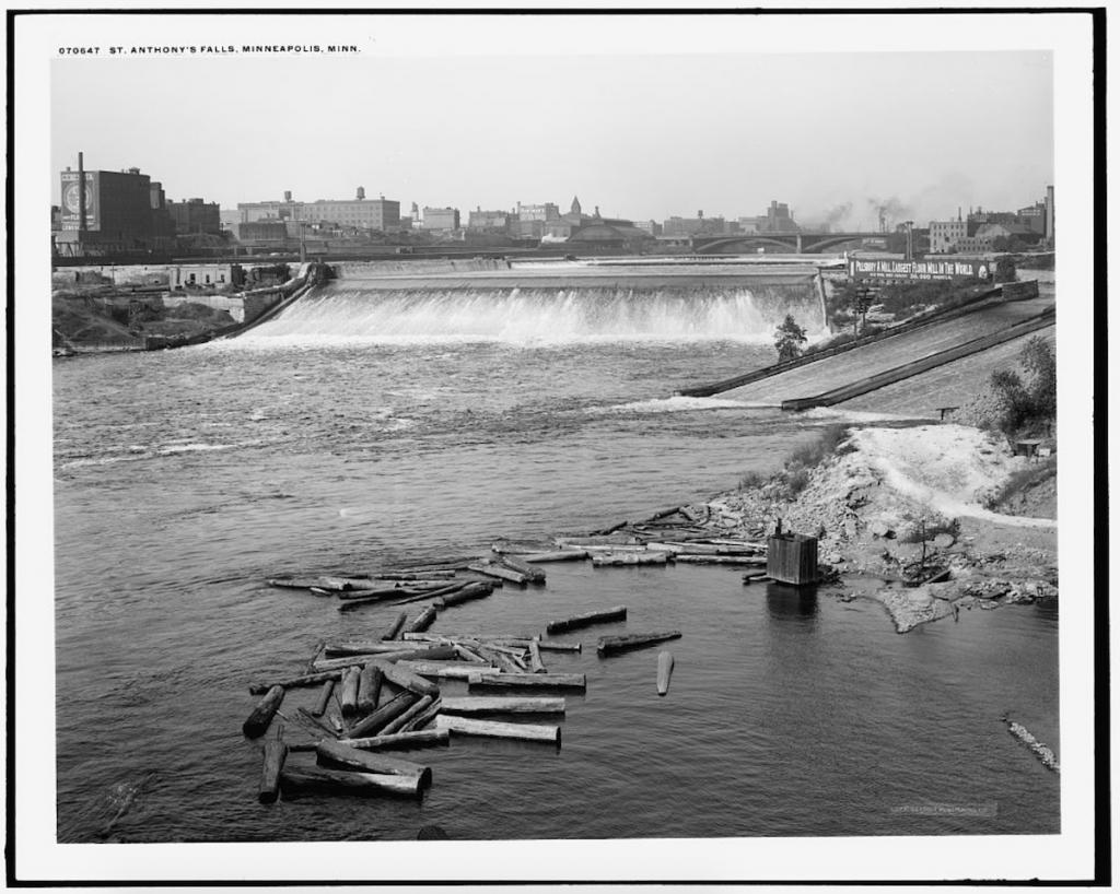 St. Anthony's Falls, Minneapolis, Minn.
