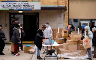 Detroit Food Distribution