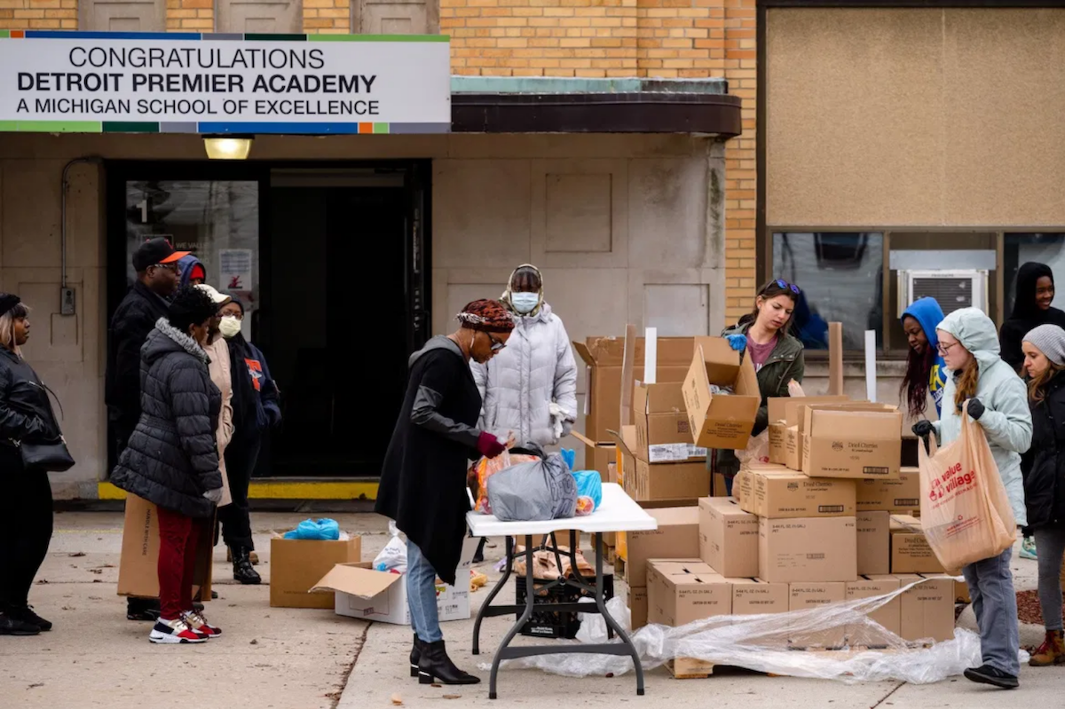Detroit Food Distribution