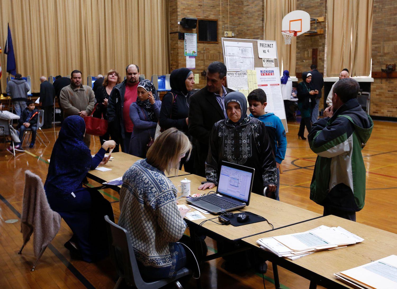 Michigan Election - Voting