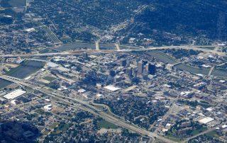 Dayton aerial image