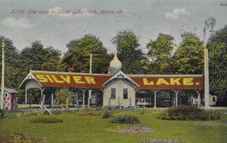 Silver Lake Park postcard
