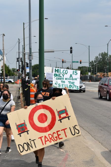 Winslow - Target protest 2