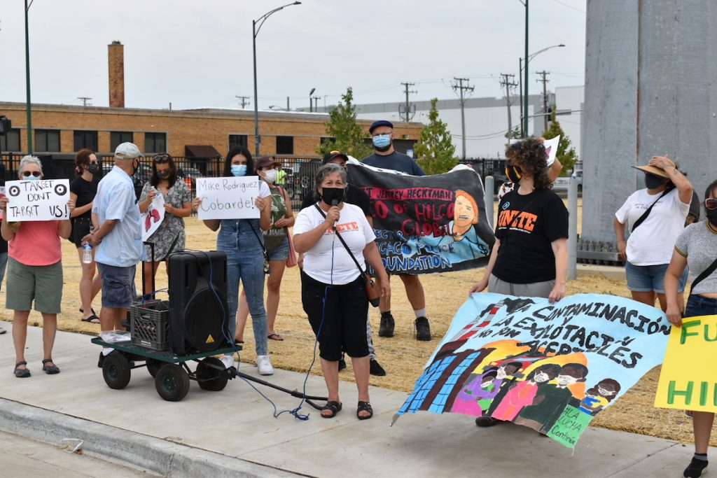 Winslow - Target protest 3