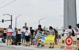 Winslow - Target protest
