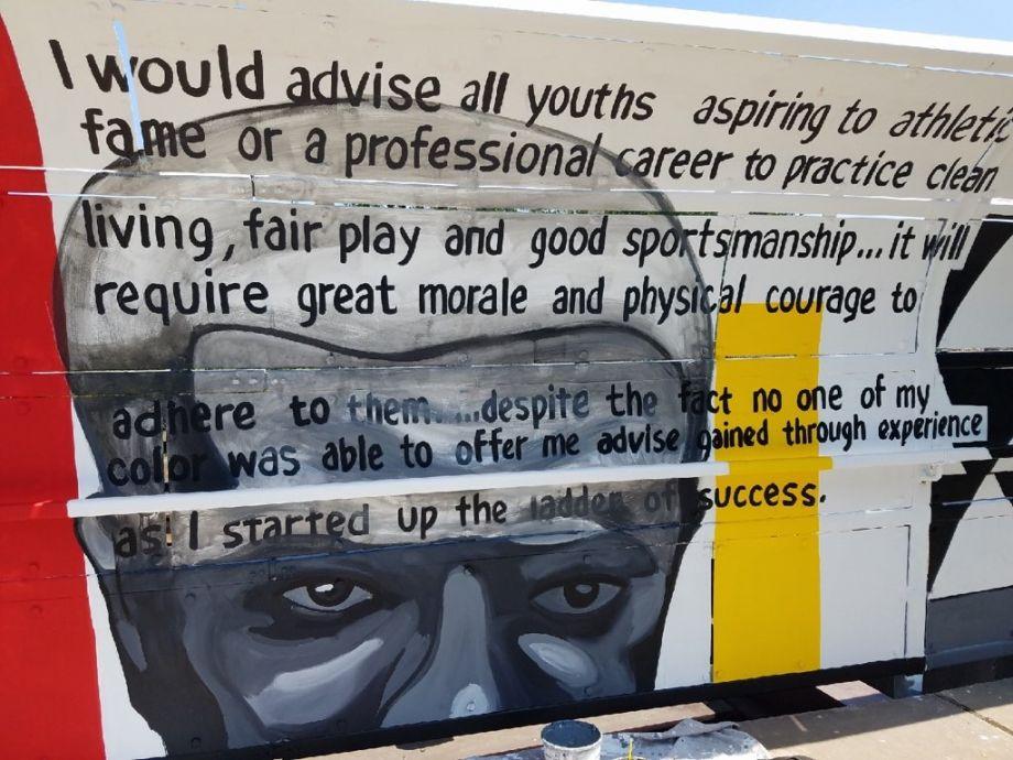 Bernard Williams Mural