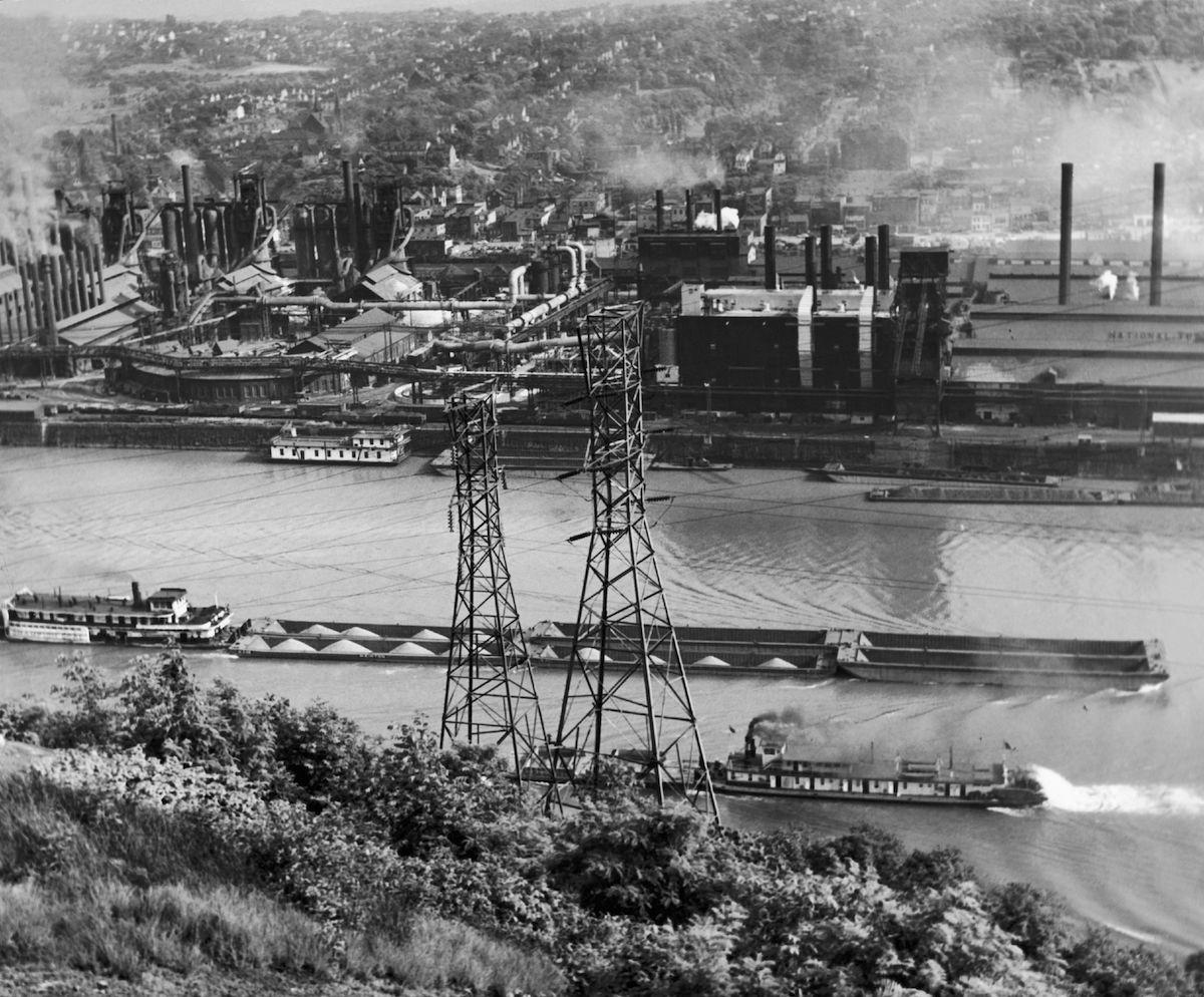 Keystone-France - McKeesport Steel Plant
