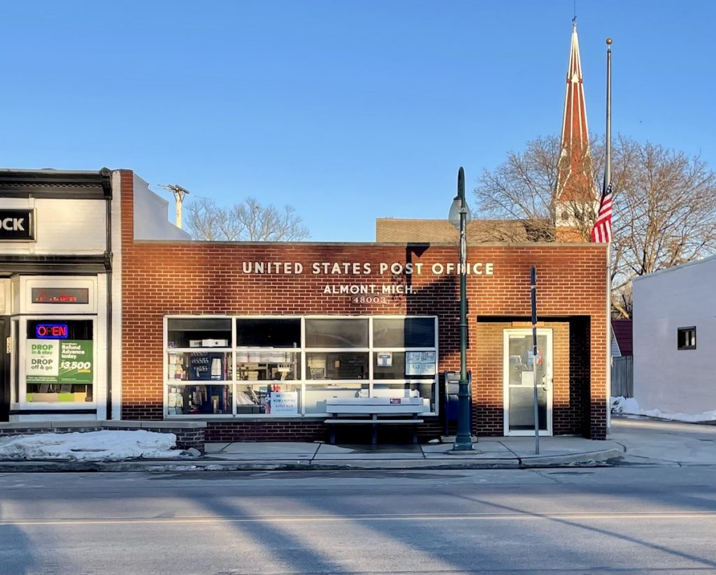 Post Office - Almont, Michigan
