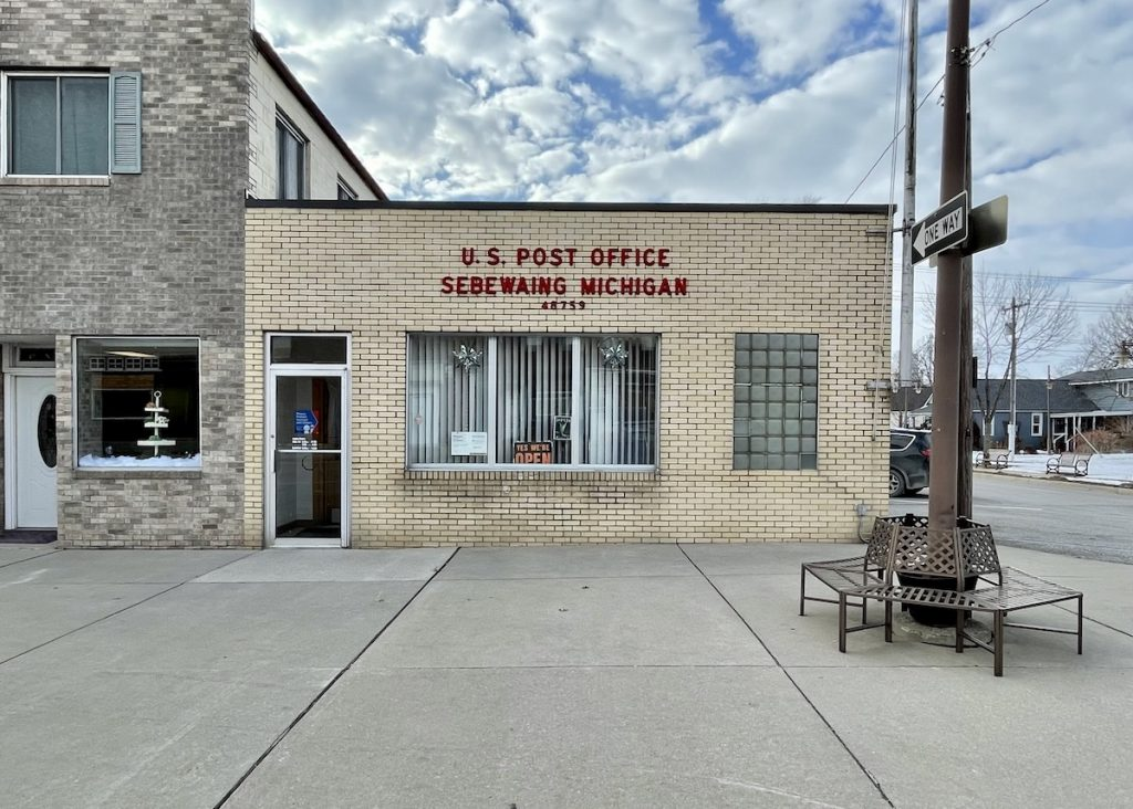 Post Office - Sebewaing, Michigan