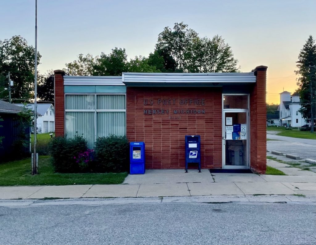 Post Office - Hersey, MI