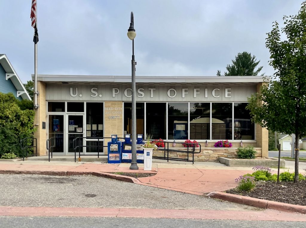 Post Office - Reed City, Michigan