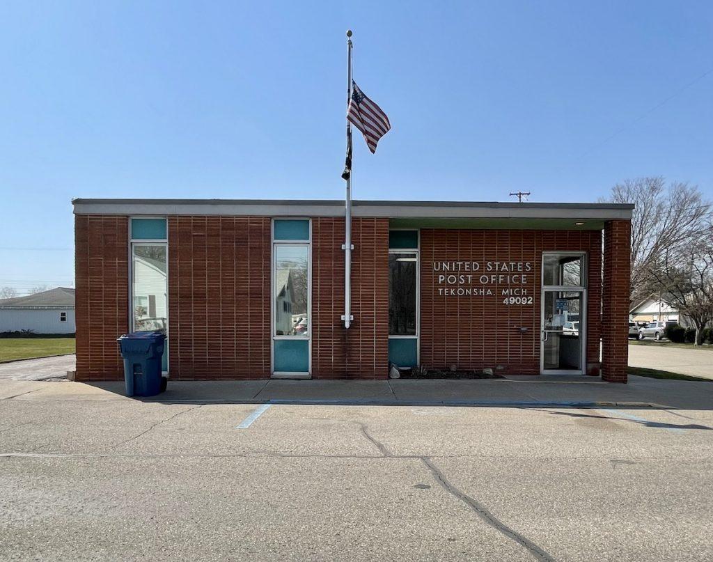Post Office - Tekonsha, Michigan