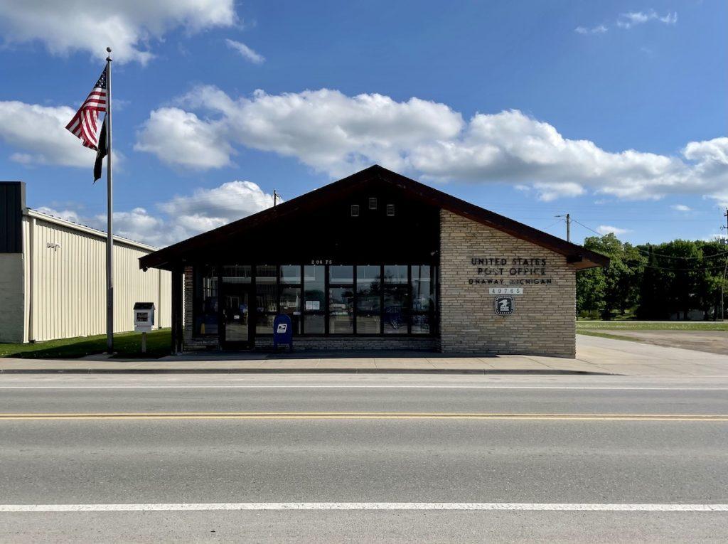 Post Office - Onaway, Michigan